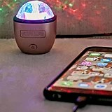 Rose Gold iPhone Disco Light