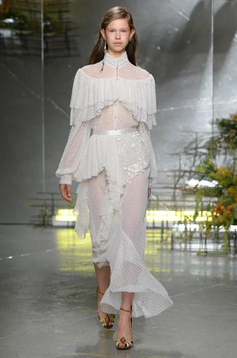 The Rodarte Spring collection was debuted at New York Fashion Week on Sept. 13.