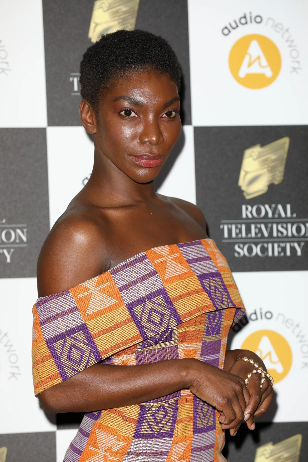 LONDON, ENGLAND - MARCH 19:  Michaela Coel attends the Royal Television Society Programme Awards at Grosvenor House on March 19, 2019 in London, England. (Photo by Tristan Fewings/Getty Images)