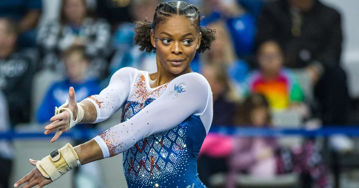 Meet Trinity Thomas, a Collegiate Gymnast Also Fighting For a Spot on the Tokyo 2020 Team