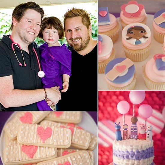 Doc Mcstuffins Themed Birthday Party For The Guncles Popsugar Family
