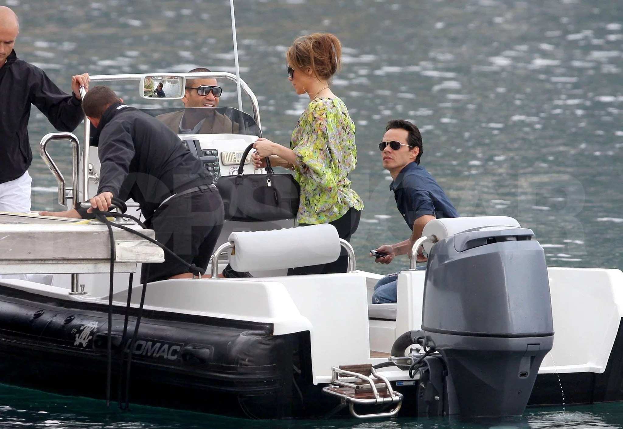 Pictures Of Jennifer Lopez And Marc Anthony Going To Robert Cavallis Yacht In Nice POPSUGAR