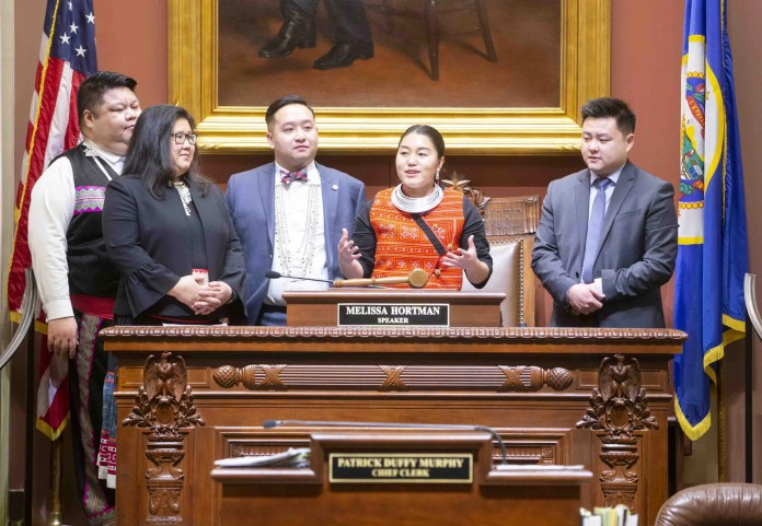 Rep. Samantha Vang Talks APIA Political Illustration