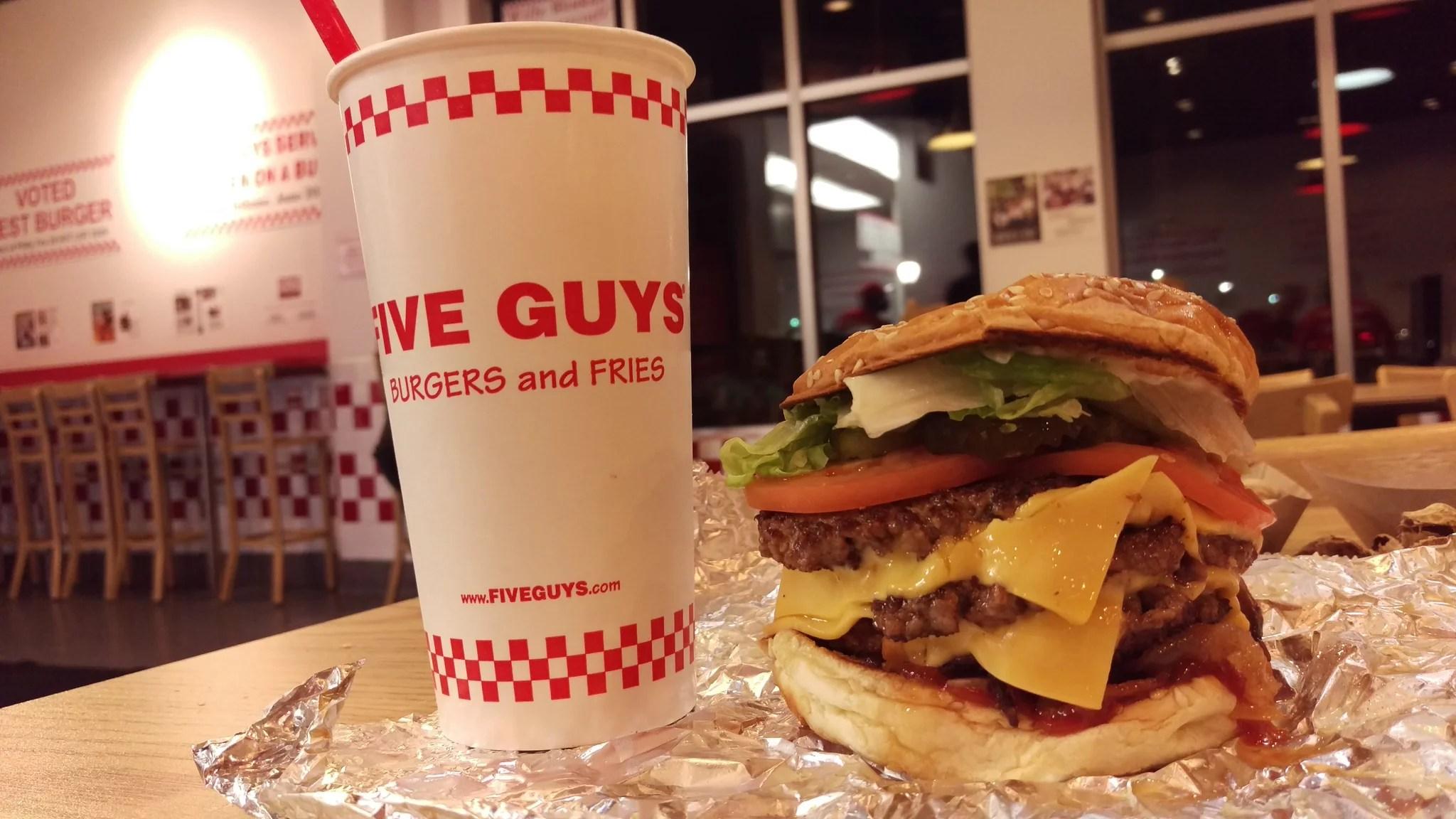 Five Guys Secrets Revealed POPSUGAR Food