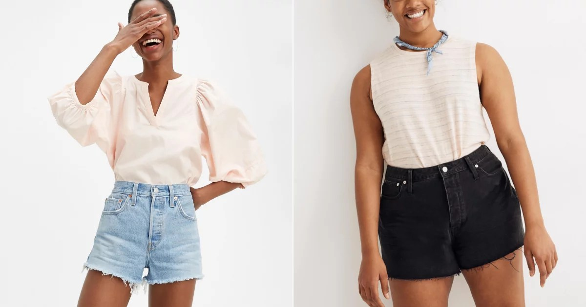 Photo of 17 Denim Shorts That Actually Look and Feel Good On