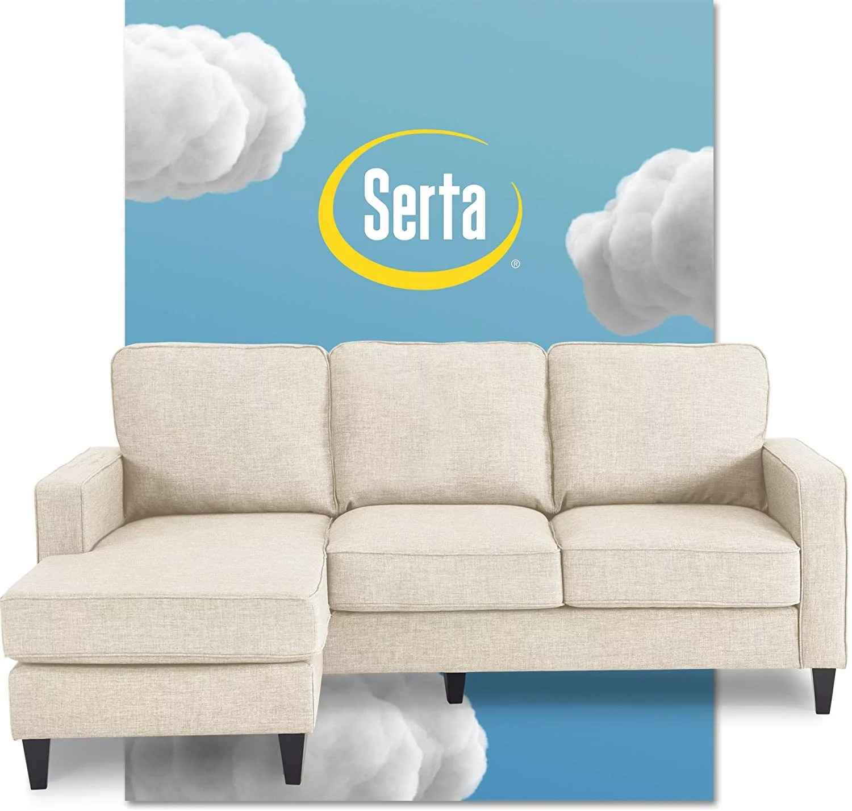 serta harmon reversible sectional sofa