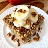 Sugar-Free Baked Oatmeal Recipe