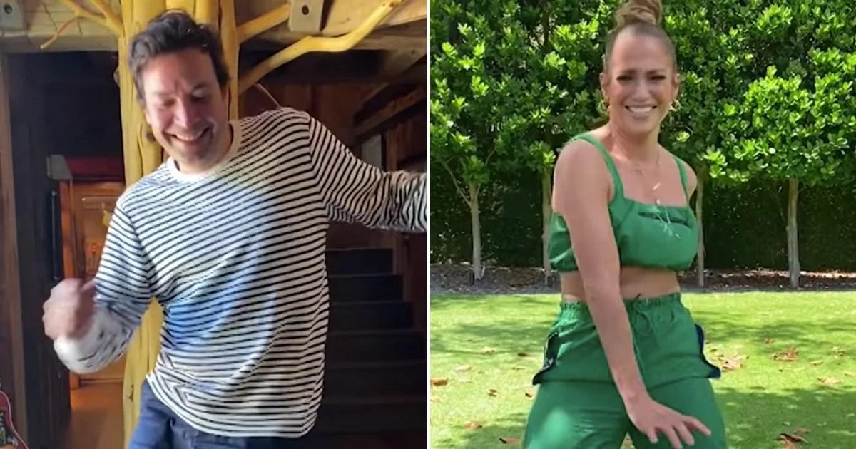 Please Enjoy Jennifer Lopez and Jimmy Fallon's Latest Dance-Off  It's All About TikTok