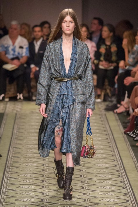 The Burberry September show took place at London Fashion Week on Sept. 19.