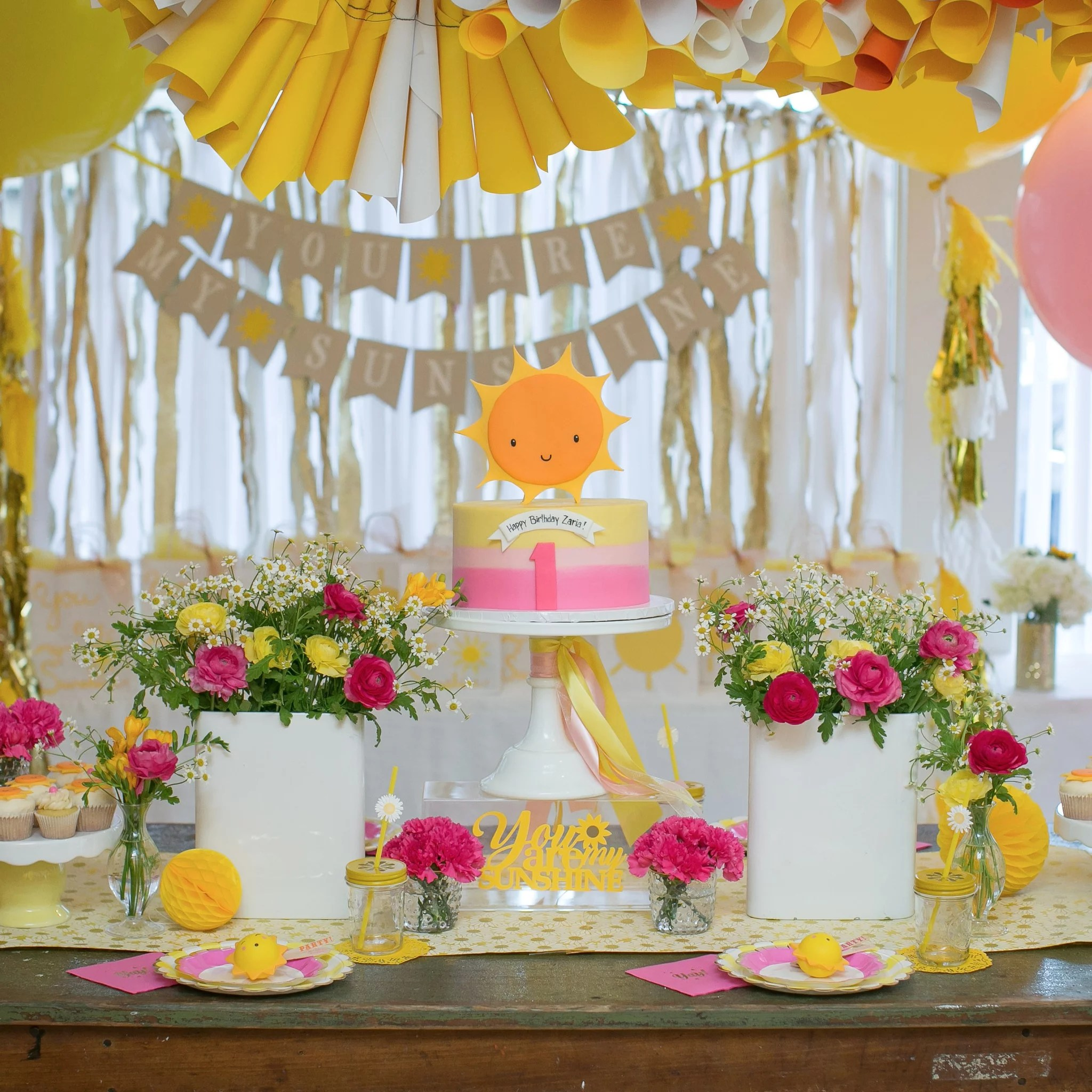 You Are My Sunshine Kid S Birthday Party Popsugar Family