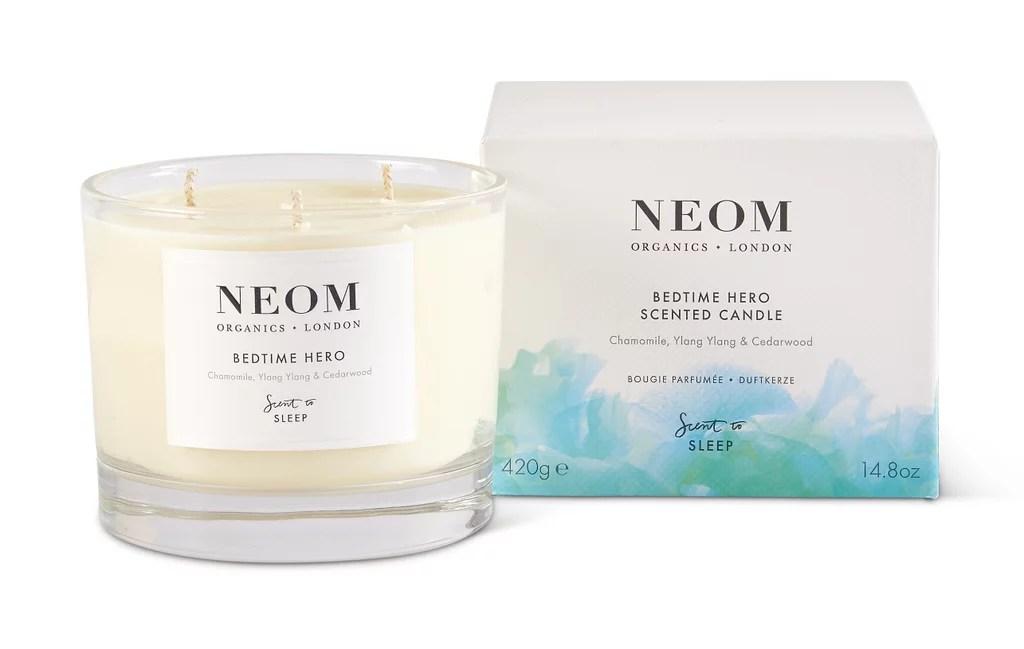 Neom Organics Bedtime Hero 3-Wick Candle