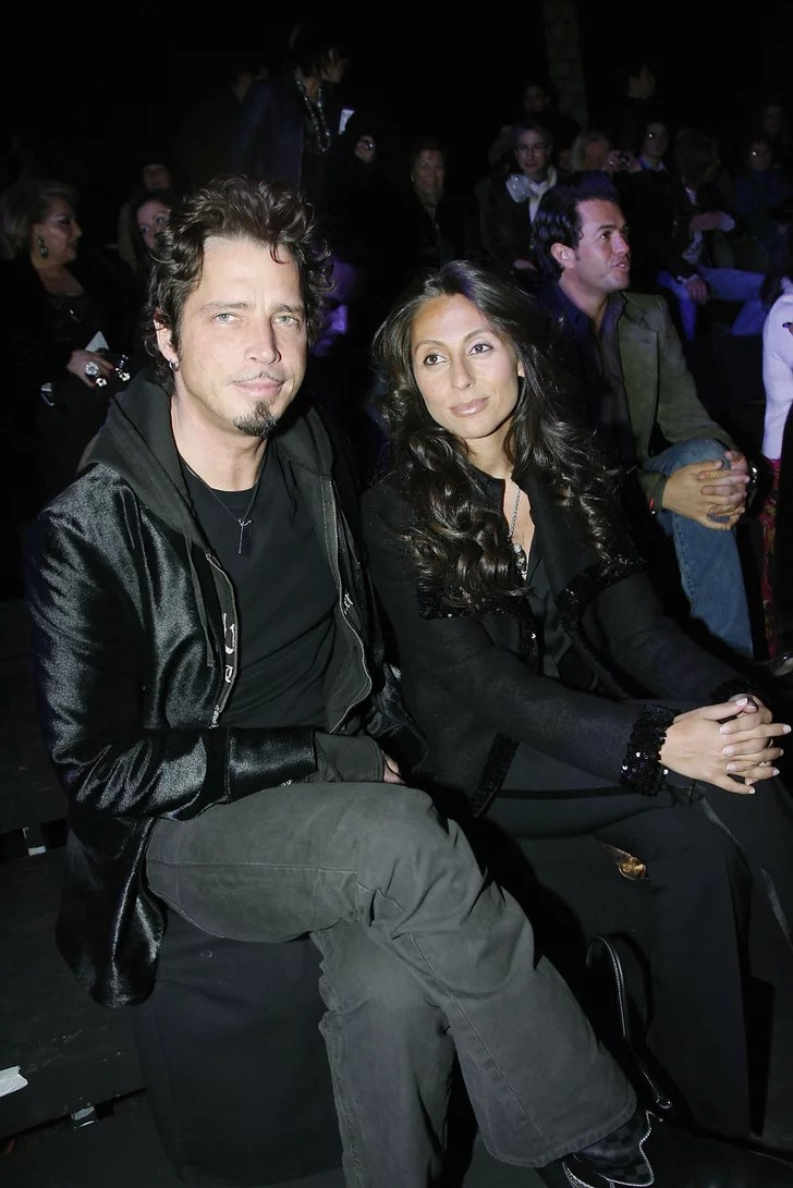 Chris And Vicky Cornell Pictures POPSUGAR Celebrity Photo 2