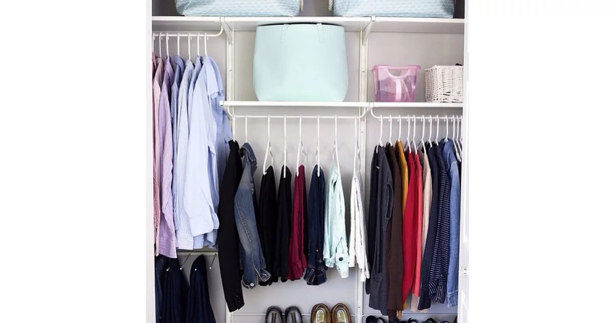 There Should Be Enough Room In A Closet For Two Peoples Belongings Proof That Marie Kondos