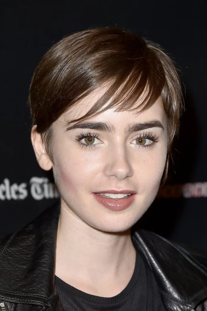 Lily Collins Looks Like A Modern Day Audrey Hepburn With
