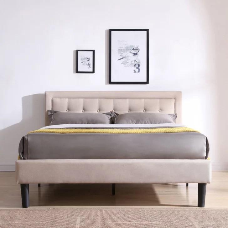 Modern Sleep Mornington Upholstered Platform Bed