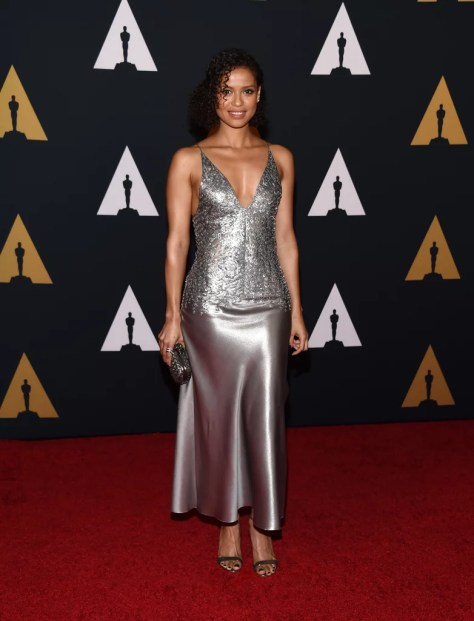 Gugu Mbatha-Raw Wearing Narciso Rodriguez