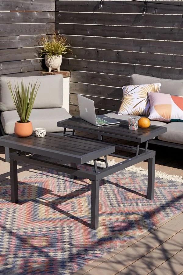 uma outdoor coffee table small home
