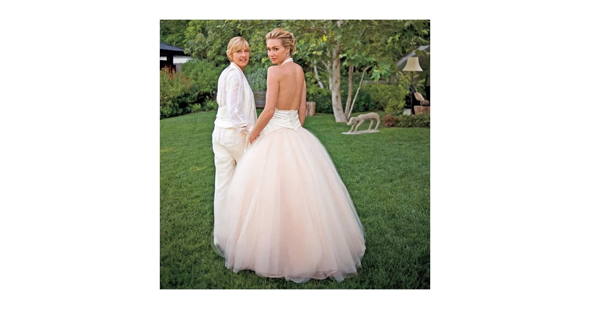 Ellen DeGeneres And Portia De Rossi Had A Special Ceremony