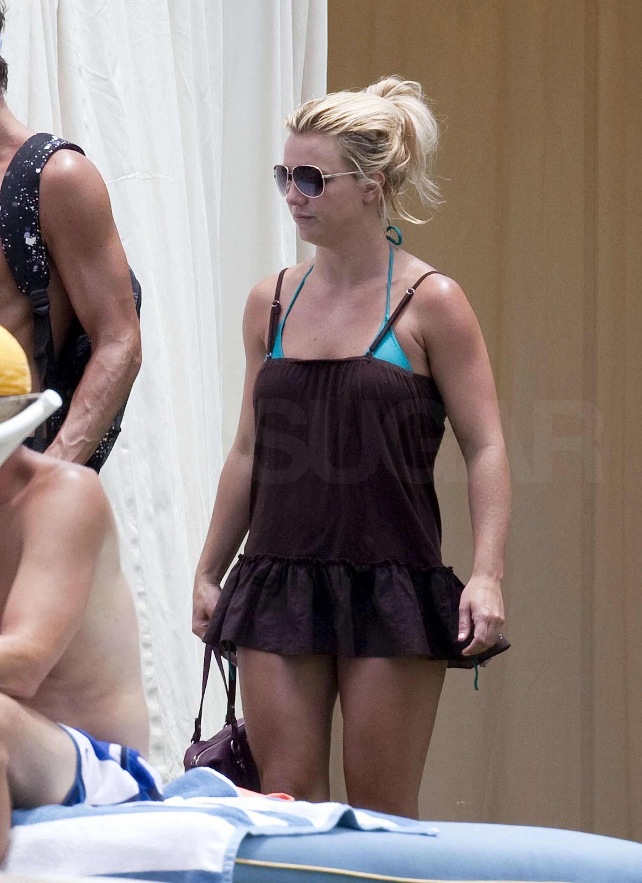 Pictures Of Britney Spears In A Bikini On Vacation With