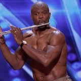 Exclusive: Terry Crews Joins America's Got Talent Audition to Play the Flute . . . Shirtless