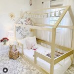 Full Size House Bed Frame With Railings 13 Montessori Style Beds That Ll Engage Your Child S Imagination And Independence Popsugar Family Photo 10
