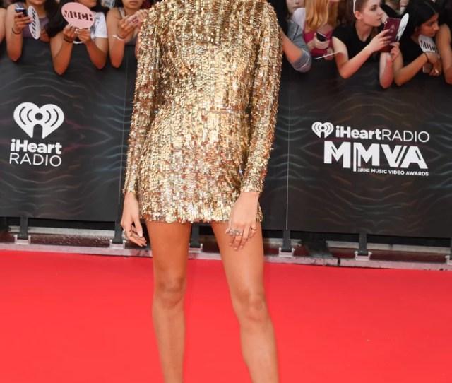 Hailey Baldwin Kayat Dress At Much Music Video Awards