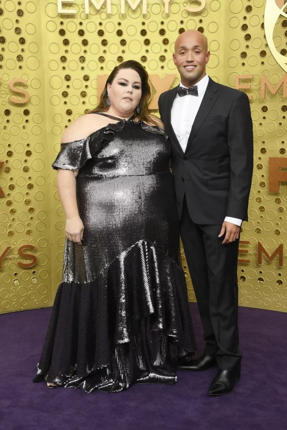 Chrissy Metz and Donnie Berry at the 2019 Emmys | Best ...