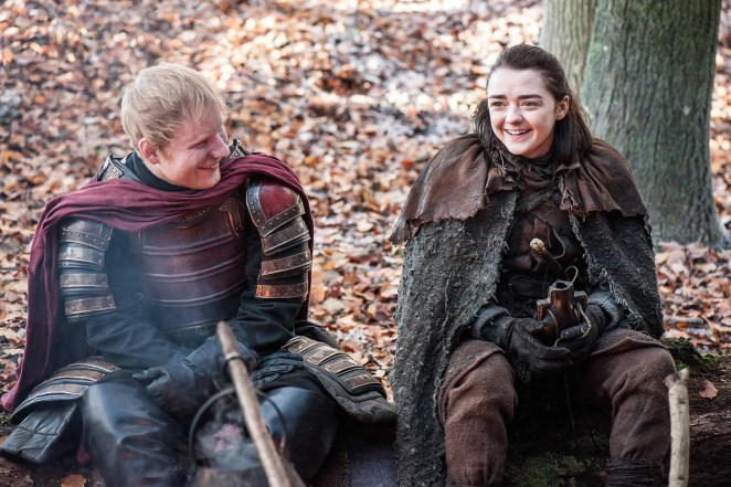 Slikovni rezultat za ed sheeran game of thrones