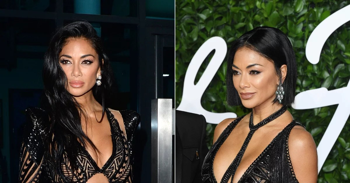 Just when we thought we'd seen the best celebrity blunt bobs this year, Nicole Scherzinger arrives at the 2019 British Fashion Awards with one of the sharpest
