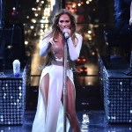 Jennifer Lopez rocks two stage outfits at the Time 100 Gala