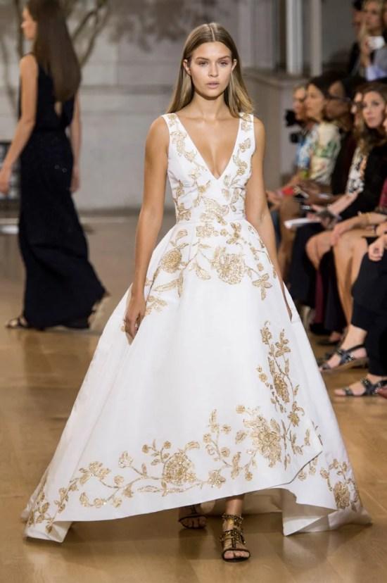 Oscar de la Renta SS17 gown