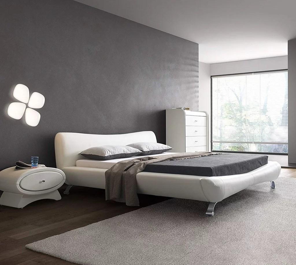 Us Pride Furniture Joyce Contemporary Platform Bed Best