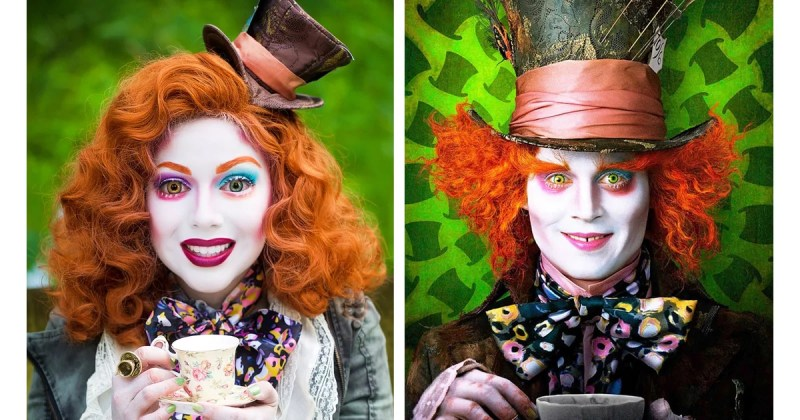 ... Alice In Wonderland Tim Burton. Female Mad Hatter Makeup Makeupview Co