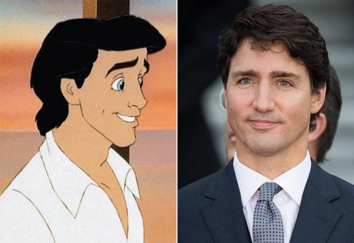 Justin Trudeau Looks Like Prince Eric POPSUGAR Australia