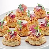 Pimento Cheese and Prosciutto Biscuits