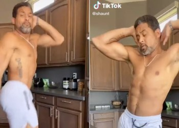 """Do Yourself a Favor and Watch a Shirtless Shaun T Crush the """"Ice Me Out"""" Dance Challenge"""