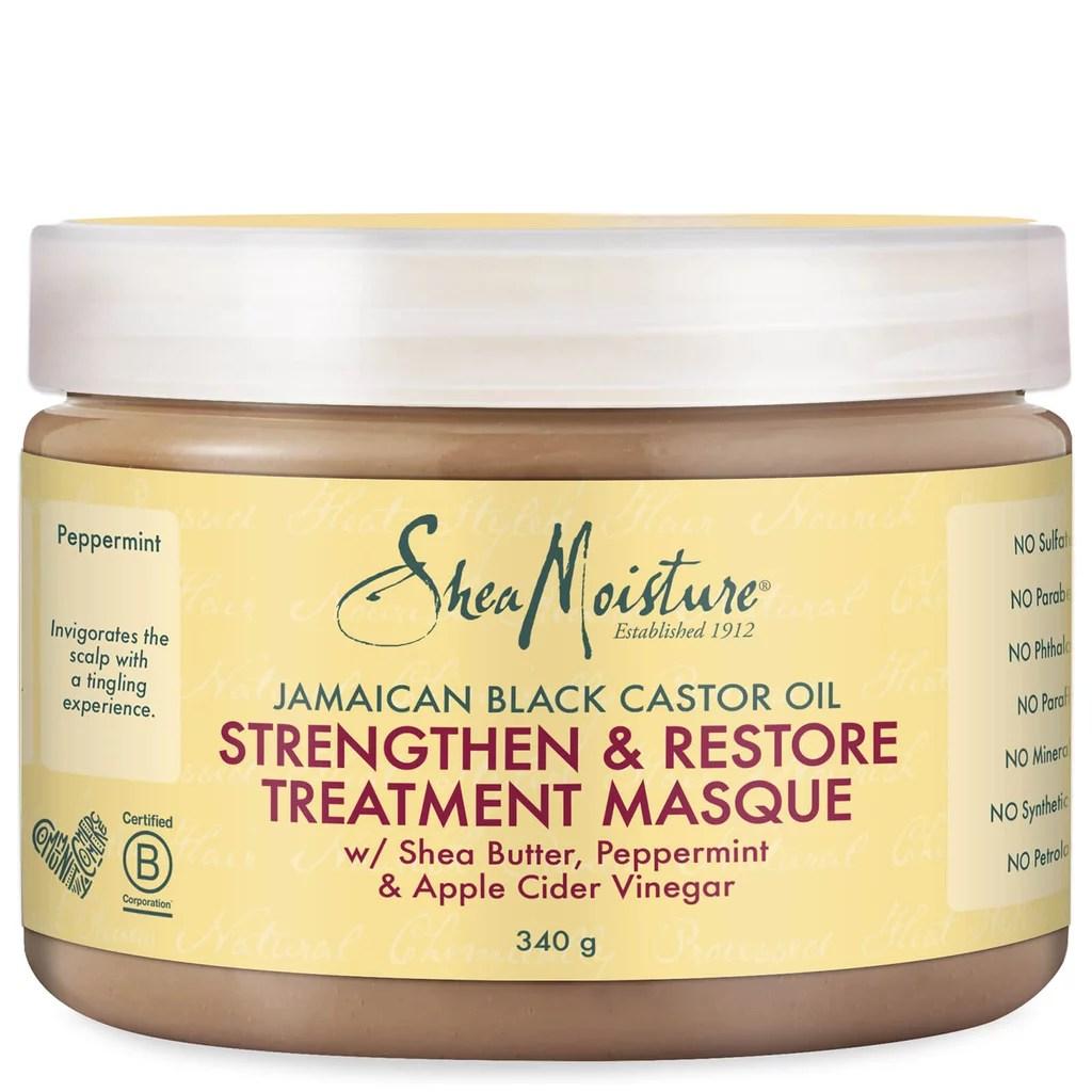 For Afro Hair Textures: Shea Moisture Jamaican Black Castor Oil Treatment Masque