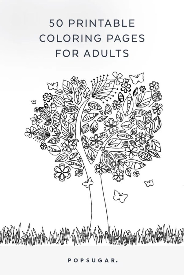 free coloring pages for adults printable # 41