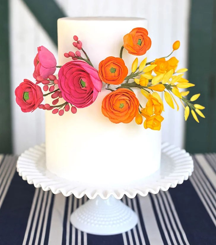 Simple Wedding Cakes   POPSUGAR Food Simple Wedding Cakes