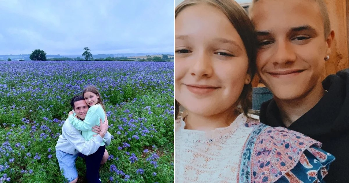 The Beckhams Pulled Out All the Sweet Family Photos For Harper's 9th Birthday