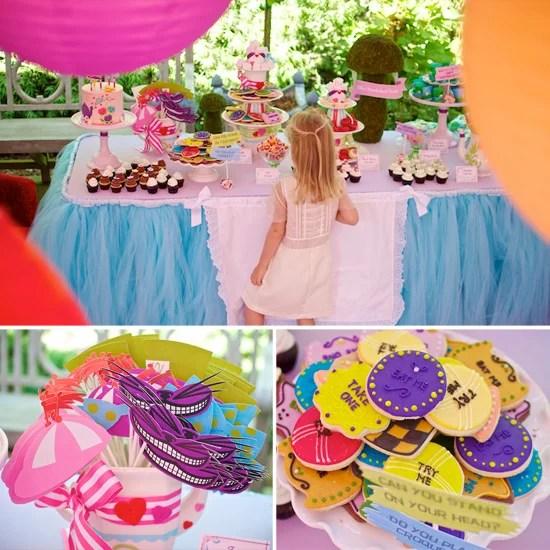 6 X Alice In Wonderland Themed Birthday Party Kids Friendship Bracelet Favour Party Supplies Home Garden