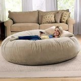 """Amazon Sells a 6-Foot """"Cocoon"""" Bean Bag Chair, and It's the Perfect Place to Hide From Your Responsibilities"""