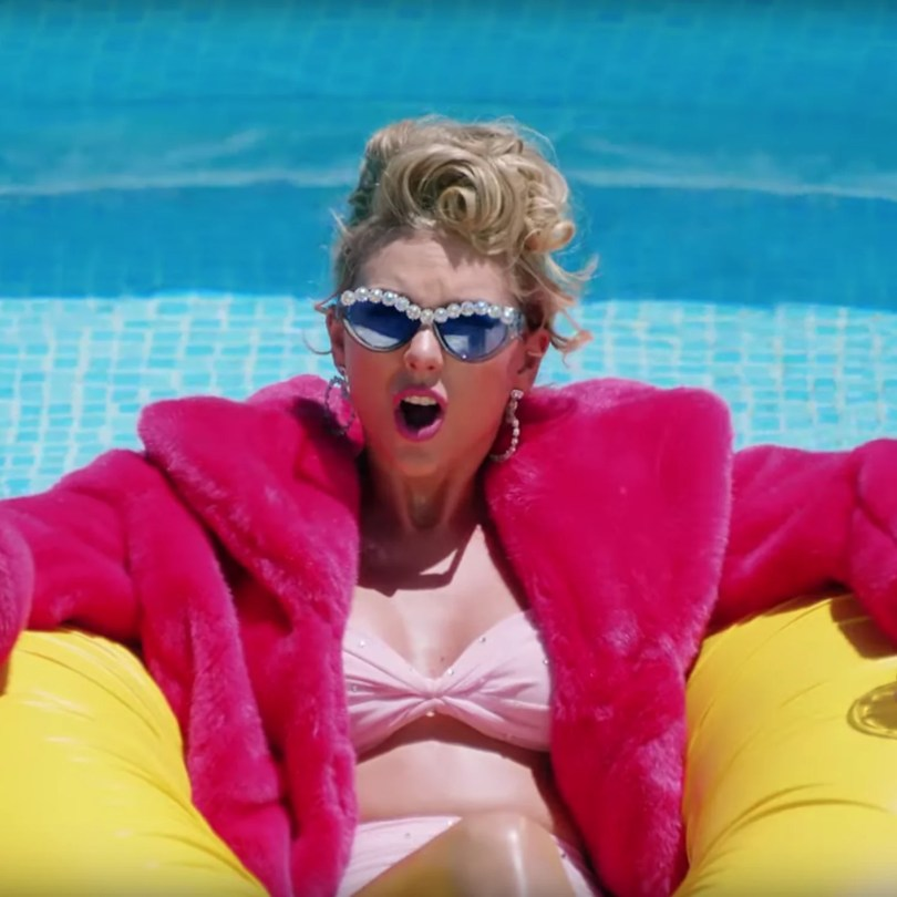 Taylor Swift Sunglasses in You Need to Calm Down Video | POPSUGAR Fashion