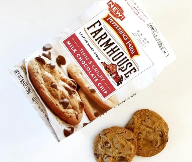 Pepperidge Farm Farmhouse Thin Crispy Milk Chocolate Chip Cookies