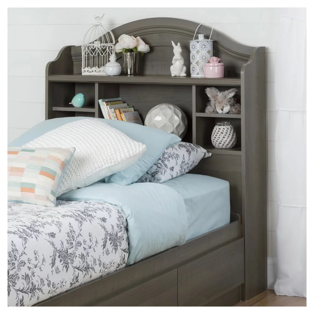 Savannah Bookcase Headboard Twin Best Target Bedroom