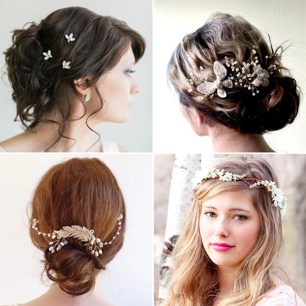 Affordable Bridal Hair Accessories Etsy POPSUGAR Beauty