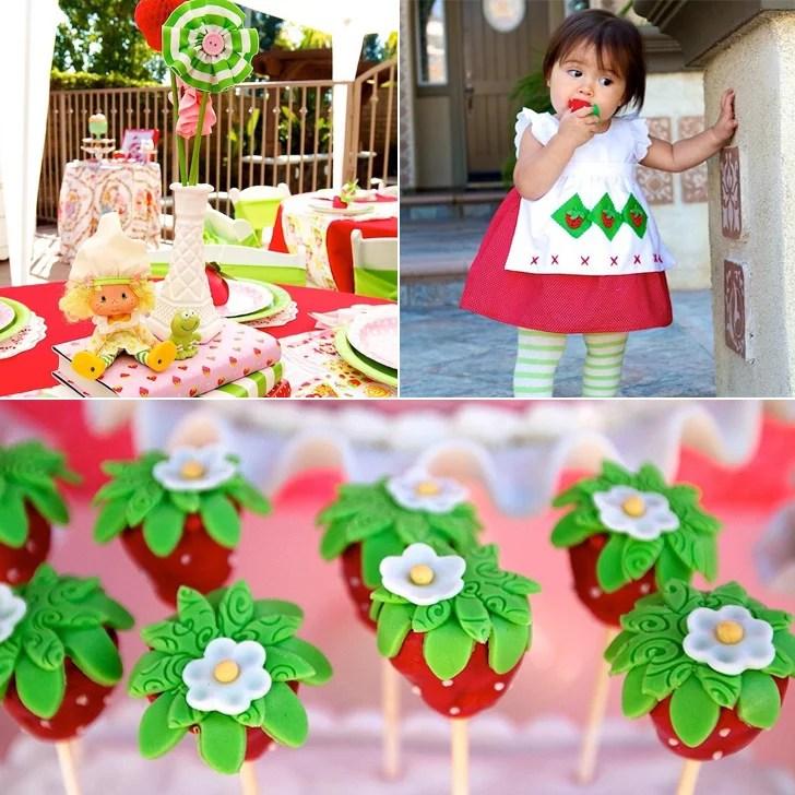 Vintage Strawberry Shortcake Birthday Party Popsugar Family
