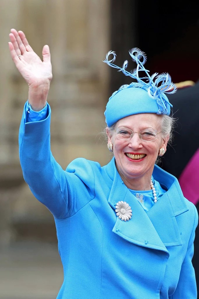 Queen Margrethe II Of Denmark Royal Wedding Hats And