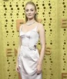 Sophie Turner Is All Wrapped Up in Elegance in This Louis Vuitton Dress