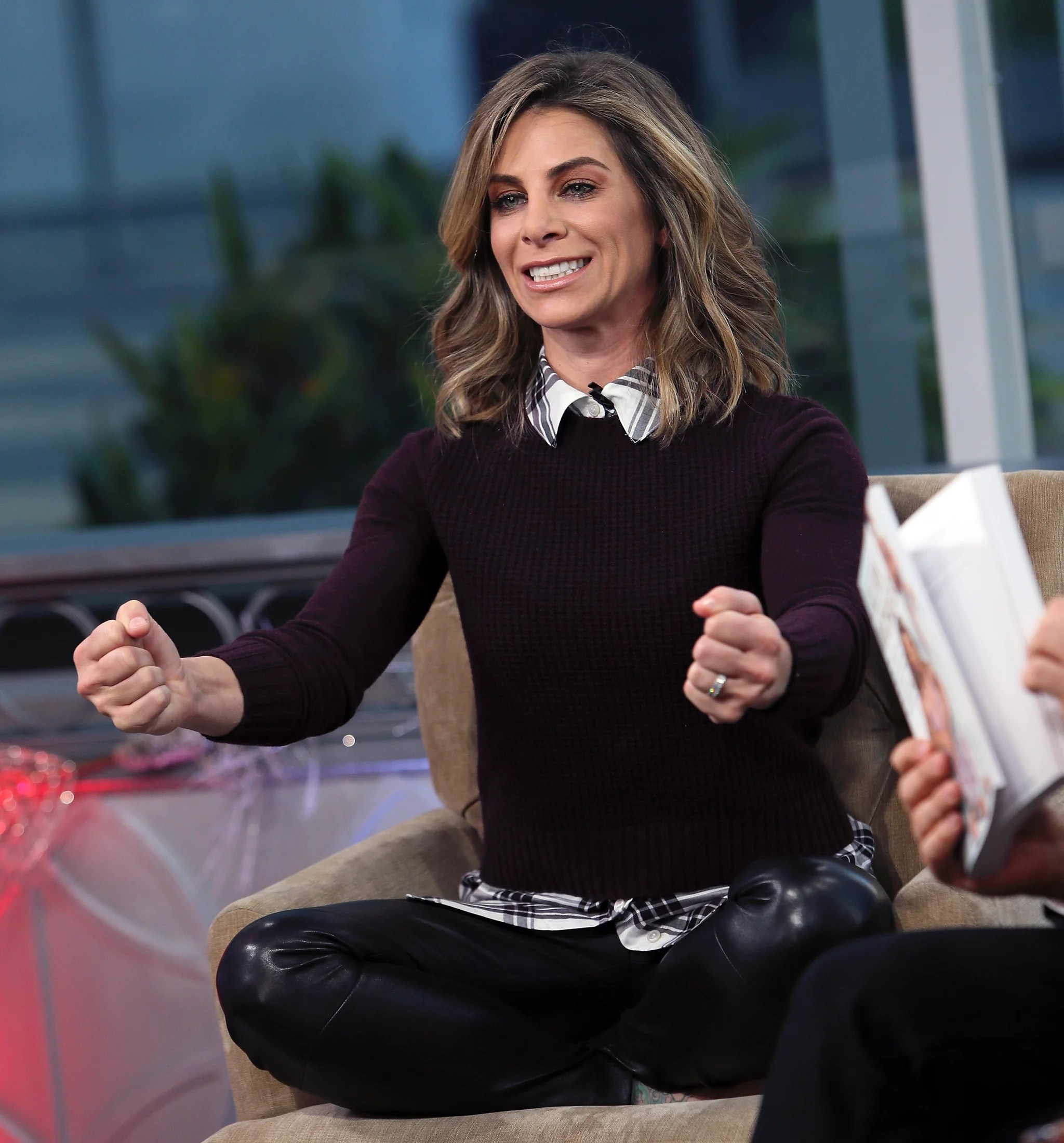 HOLLYWOOD, CA - DECEMBER 02:  TV personality/author Jillian Michaels visits Hollywood Today Live at W Hollywood on December 2, 2016 in Hollywood, California.  (Photo by David Livingston/Getty Images)